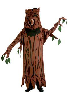 Preparing your #HalloweenCostume? Here's a Spooky Tree Costume idea!