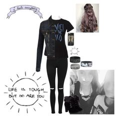 """""""Me in a FEW Years!!"""" by batgirl-at-the-walking-dead3 ❤ liked on Polyvore featuring Topshop, Hot Topic, LE3NO, ChloBo and Casetify"""