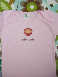 Perfect for a little girl I know whose mommy loves sushi! Baby Girl Fashion, Toddler Fashion, Kids Fashion, Cute Kids, Cute Babies, Baby Couch, My Little Nieces, Baby Chicks, Everything Baby