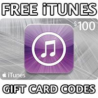 Giveaway of Free iTunes codes for use in Apple iTunes
