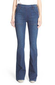 Frame Denim 'Le Flare de Françoise' High Rise Flare Jeans