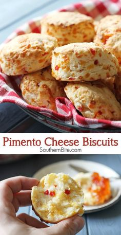 How do you make buttermilk biscuits even better? You add pimento cheese, of course! Biscuit Bread, Cheese Biscuits, Buttermilk Biscuits, Biscuit Recipe, Oatmeal Biscuits, Easy Biscuits, Cinnamon Biscuits, Fluffy Biscuits, Pizza