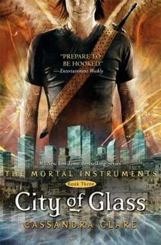 The Mortal Instruments Series #3 ... Still pursuing a cure for her mother's enchantment, Clary uses all her powers and ingenuity to get into Idris, the forbidden country of the secretive Shadowhunters, and to its capital, the City of Glass, where with the help of a newfound friend, Sebastian, she uncovers important truths about her family's past that will not only help save her mother but all those that she holds most dear.
