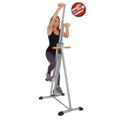 With this vertical climber you can get a complete body workout! It has a sleek silver finish, is super stable with four rubber non slip pads and has ergonomic grip handles. The climber provides a low impact but high intensity workout every session. If space is at a premium, its easy to fold the climber and store it in a corner until your next training session. http://www.ebay.com/itm/181897597862