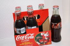 1996 Coca Cola 6 pack bottles full $12.50 Coca Cola Bottles, Bottles For Sale, Coke, Appreciation, Canning, Drinks, Collection, Drinking, Coca Cola