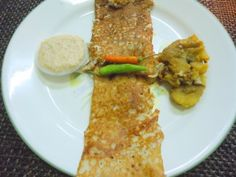 South Indian Cooking: Masala Dosa with Coconut Chutney