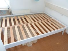 The finished product, without mattress(es)   Closed (single bed) -without mattress(es) Halfway open Fully open...