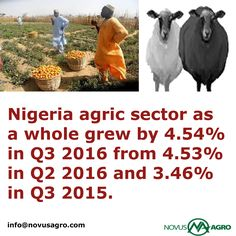 Agriculture in Nigeria has greatly improved in the past few years because of the advent of technology, government interference, and other necessary infrastructures. Growth in agricultural output has no doubt been on the rise as farmers are stepping away from subsistence agriculture and embracing modern civilization The agricultural sector is one of Nigeria's potential sources of revenue.