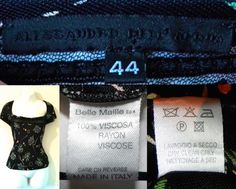 2000's (2002 Collection) Floral Blouse Top. Label: Alessandro Dell'Acqua Made in Italy