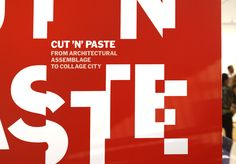 Cut 'n' Paste - The Department of Advertising and Graphic Design