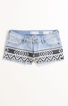 Pac Sun Tribal Shorts