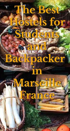 The Best Hostels for Students and Backpackers in Marseille, France: Marseille is the second most populated city in France. It's also at the…