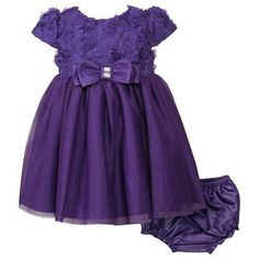 Youngland Purple Soutache Dress ᅵ Girls 12-24m  http://beso.ly/rd/4664495863?a=416213=1