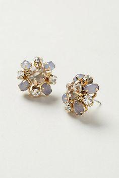 clarkia earrings / anthropologie
