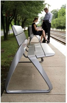 BMW designs furniture collection for public urban transport
