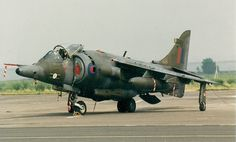 Harrier GR.3A Military Jets, Military Aircraft, British Aerospace, Close Air Support, Air Force Aircraft, Jet Plane, Royal Air Force, Warfare, Fighter Jets