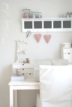 little girl's room - white with just a touch of soft pink
