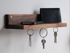 Magnetic Key Holder & Shelf. Great house di MeriwetherOfMontana