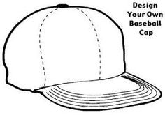 Using this top and hat template, your child can design and