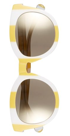 These vibrant, striped sunnies will definitely be the go-to accessory on hot days.
