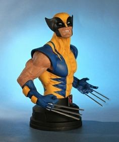 Marvel: Wolverine Yellow Costume Mini Bust