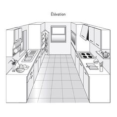 Remodeling Your Kitchen: Should You Get a Dishwasher - Kitchen Remodel Ideas Parallel Kitchen Design, Galley Kitchen Design, Kitchen Layout, Interior Design Kitchen, Grey Kitchens, Home Kitchens, Small American Kitchens, Handleless Kitchen, New Kitchen Cabinets