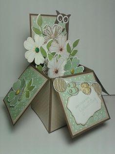 """Meine Variante der """"Card in a Box"""""""