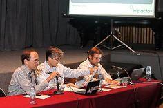 El Panel presenta los resultados de la investigacón realizada por Impacto Positivo. Panel, Socialism, Financial Statement, Circuit