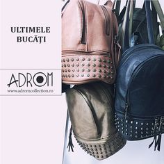 STOC LIMITAT la ghiozdanele de pe Adrom Collection.👜🛍️🎒  Profită și comandă-le acum! 😍 Culori și modele la alegere.  ➡️ www.adromcollection.ro/74-ghiozdane Fashion Backpack, Backpacks, Bags, Handbags, Dime Bags, Women's Backpack, Lv Bags, Purses, Backpack