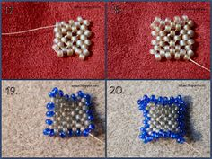 art, crafts and beads: Sea Star Beading Tutorial Free Beading Tutorials, Beading Patterns Free, Bead Loom Patterns, Jewelry Patterns, Beaded Starfish, Beaded Christmas Ornaments, Seed Bead Jewelry, How To Make Beads, Beads Making