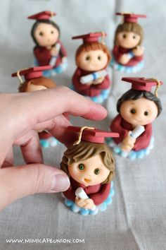 Fondant Doll Cup Cake Topper by mimicafe Union