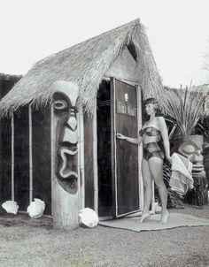 Tiki Hut #vintage #tiki #hawaii
