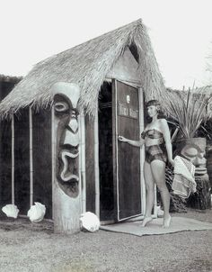 Tiki Hut  #vintage #tiki #hawaii