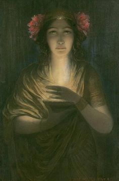 The Priestess by Louis Welden Hawkins