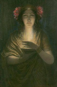 The Priestess by Louis Welden Hawkins