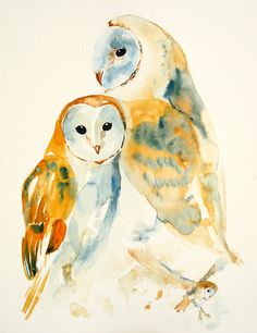 My Owl Barn: Watercolor Paintings by Irene