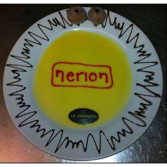 Postre dedicado a los amigos de @Nerion. Va directa al #HallOfFame2.0 de nuestros visitantes ilustres