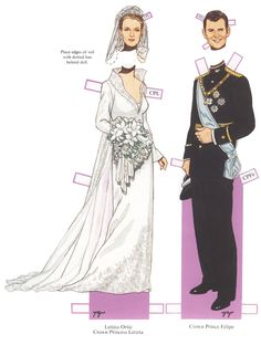 ROYAL WEDDINGS Letizia Ortiz Rocasolano (born in Oviedo, Asturias, Spain) the Queen of Spain is the wife of King Felipe VI, who ascended on 19 June 2014 on the abdication of his father Juan Carlos I. Before her marriage [22 May 2004] to Felipe, Letizia was a journalist and news anchor. Letizia and Felipe have two daughters, Leonor, Princess of Asturias, who is now the heiress presumptive; and Infanta Sofía. June 2014, Letizia became Queen of Spain, and holds the style of Majesty. <<=>> 1 of…