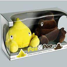 Pee and Poo? Ew. Lol!