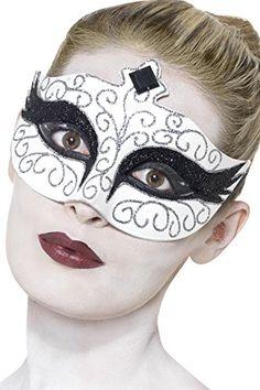 Gothic Swan Eyemask, White, with Black Jewelled Tiara Des... https://www.amazon.co.uk/dp/B00AZGEXHA/ref=cm_sw_r_pi_dp_x_VbIEyb2WCJMT9