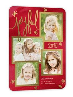Brilliant Embellishment 6x8 Stationery Card by Stacy Claire Boyd. Send a Christmas card friends and family will love. | Shutterfly