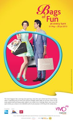 Branding Campaign - VivoCity GSS 2013 by Pei Chyi Lin, via Behance