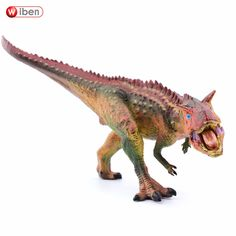 Wiben Jurassic Carnotaurus Dinosaur Toys  Action Figure Animal Model Collection Gifts Toys For Children High Quality Brinquedos