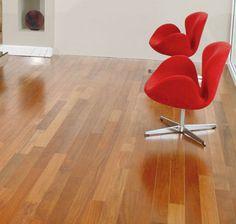 Hardwood Floors: IndusParquet Hardwood Flooring - 1/2 IN. x 5 IN. Engineered Exotics - Brazilian Cherry