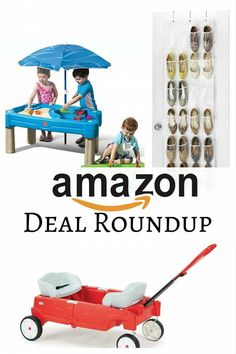Amazon Deal Roundup: Shoe Organizer, Wagon and Water Table - http://www.thebudgetdiet.com/amazon-deal-roundup-22?utm_content=snap_default&utm_medium=social&utm_source=Pinterest.com&utm_campaign=snap
