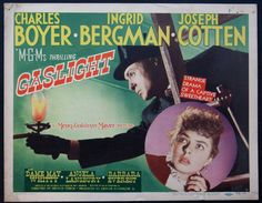GASLIGHT Movie Poster (1944) || MYSTERY Movie Posters   @ FilmPosters.Com - Vintage Movie Posters and More