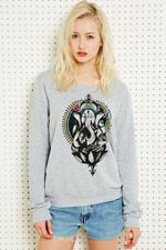 Truly Madly Deeply Boho Sweatshirt at Urban Outfitters   Looks comfy