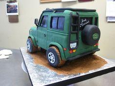Car cake!