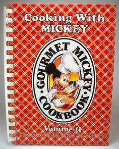 Disney  Cooking with Mickey Gourmet Mickey by myatticstreasures, $17.88