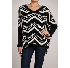 **MORGAN Aztec Sweater**  ONLY $59...AND only ONE left (M/L) #raidkellyscloset | Kelly's Closet Boutique